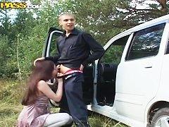 Лысый дрючит Анджелу Дарк
