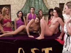 Страстный секс с Жасмин и Лиз